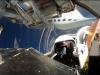 MiG-29 Fulcrum widok wewnątrz kokpitu podczas lotu.