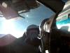 Uczestnik lotu migiem na krawędź stratosfery w Rosji.