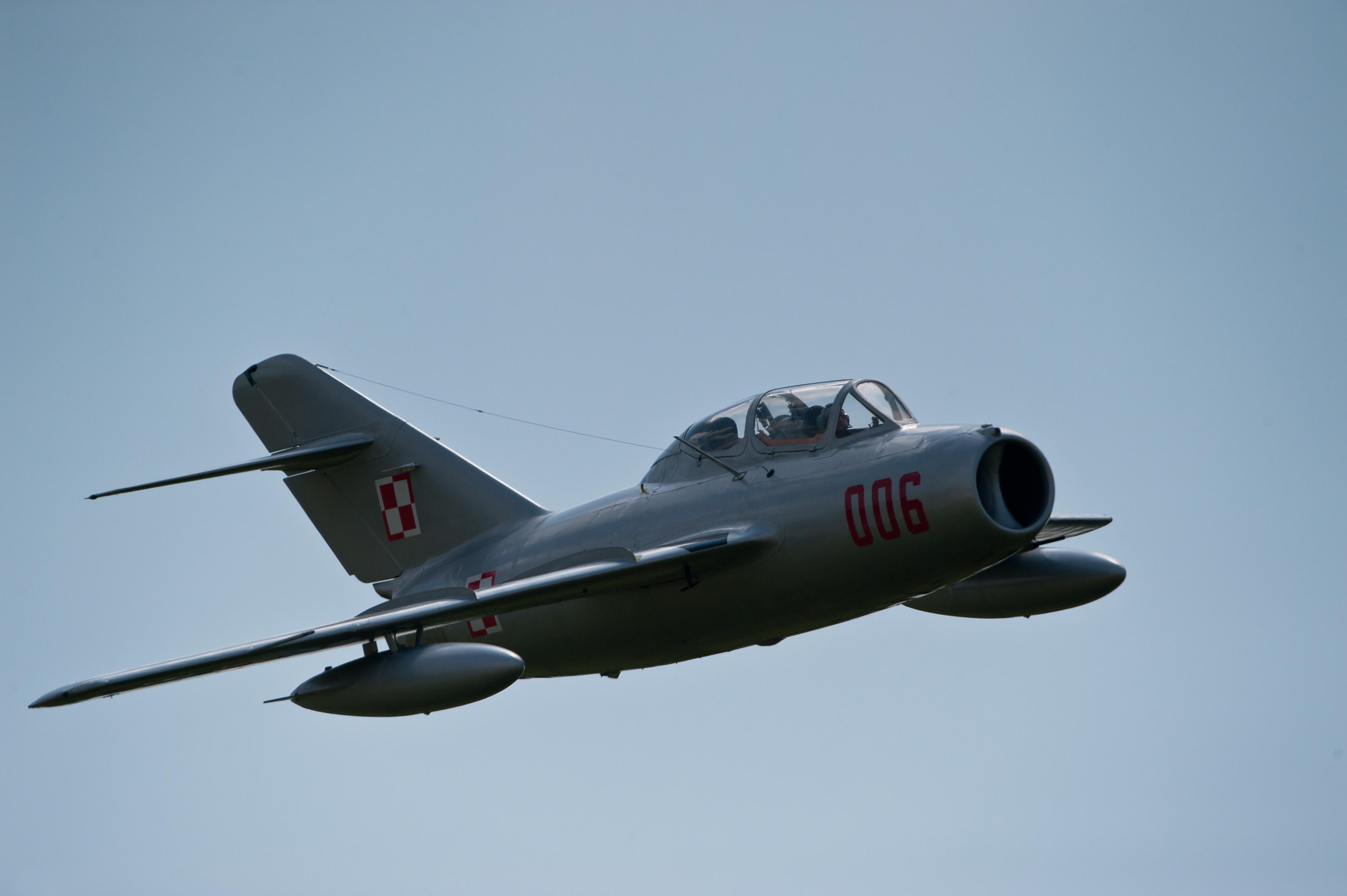 MiG-15 Fagot w powietrzu