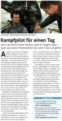 Artykuł z MTU Aero Enginges Magazine - Maj 2006