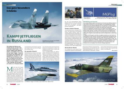 Artykuł z Cockpit - Luty 2005