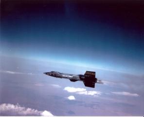 North American X-15 – najszybszy na świecie załogowy samolot rakietowy.