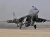 Start myśliwca MiG-29 Fulcrum, baza Sokol, Rosja.